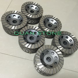Ripple Cup Wheel Diamond Cup Wheel Aluminium Kembali Resin Untuk Poles